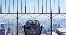 NYC Activities, Enjoy the View from the Empire State Building